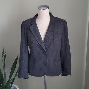 Aritzia   Talula Grey Blazer Size 10
